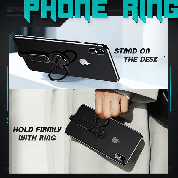 Dual Port Phone Ring Holder Adapter