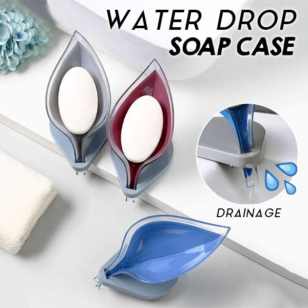 Water Drop Soap Case