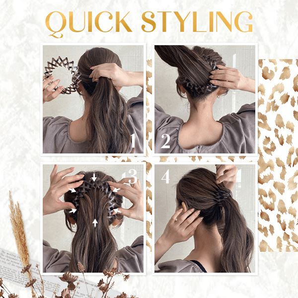 Bird Nest Shaped Hair Holder