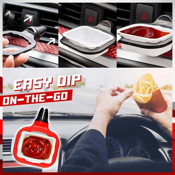 Car Dipping Sauce Holder