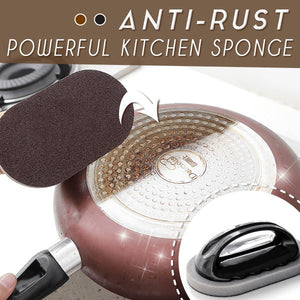 Anti-Rust Powerful Kitchen Sponge