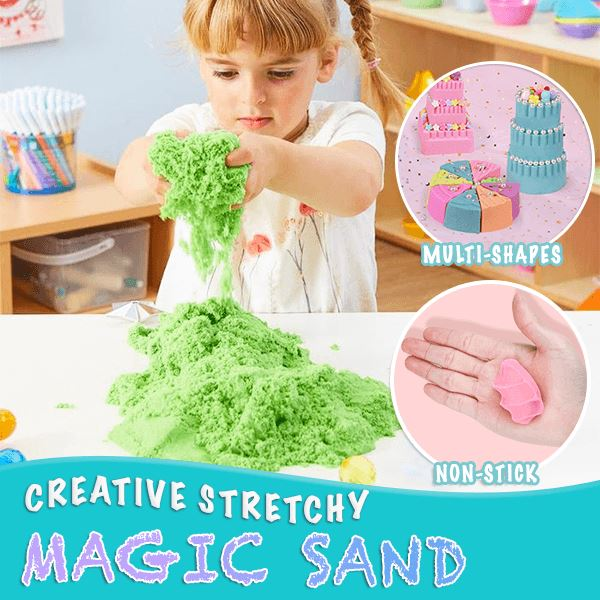 Creative Stretchy Magic Sand