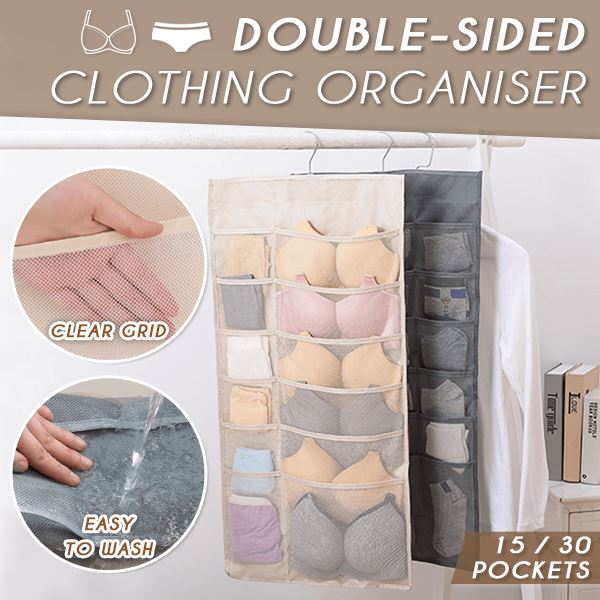 Double-sided Clothing Organiser