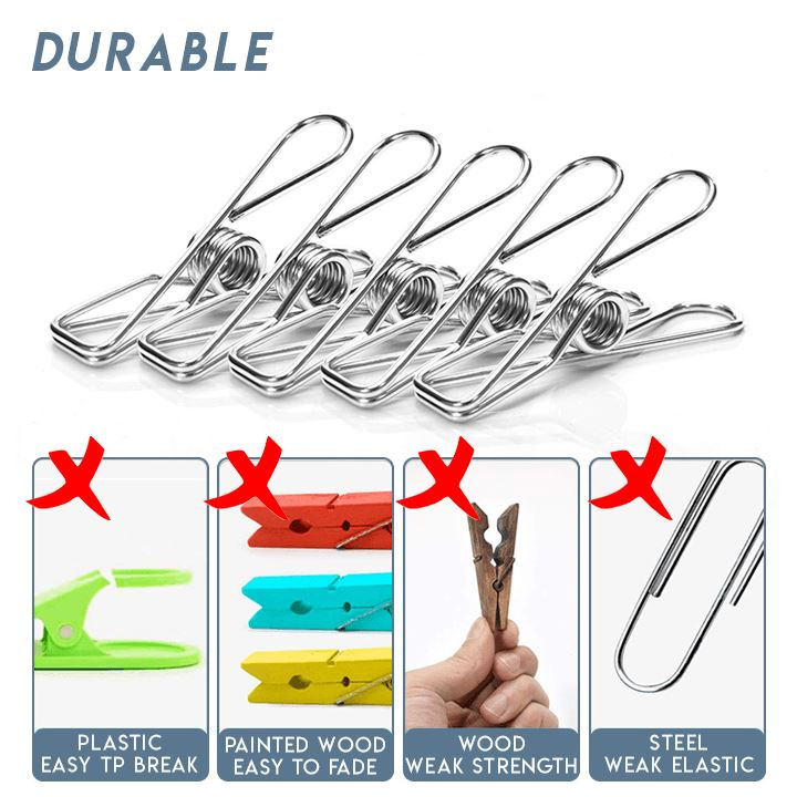 Multifunction Clothes Pegs (20pcs)