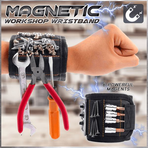 Magnetic Workshop Wristband