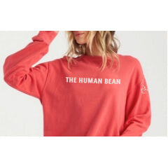 Red Crew Sweatshirt