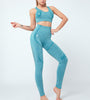 Seamless Sports Bra & Leggings Set - Tanwara- Fitness Set