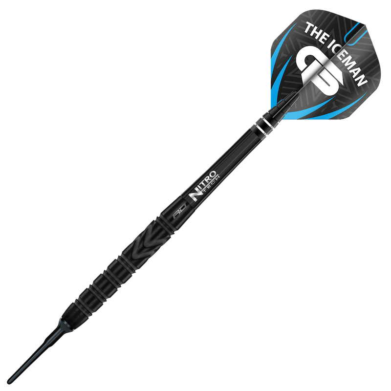 Gerwyn Price - Back to Black Softdarts - DreamDarts Online Dartshop