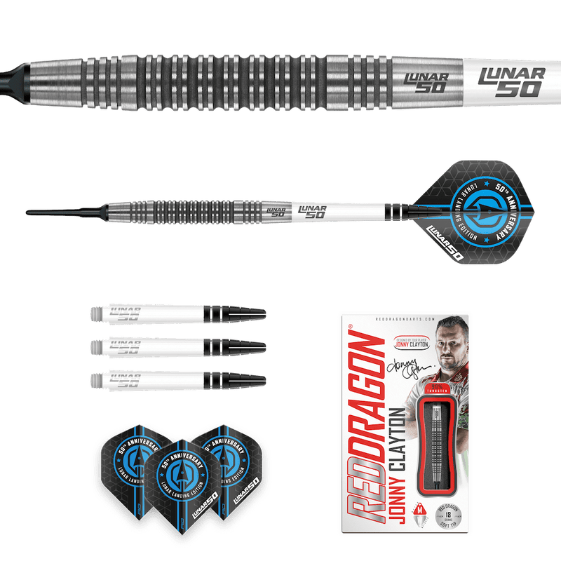 Jonny Clayton - Lunar 50th Softdarts - DreamDarts Online Dartshop