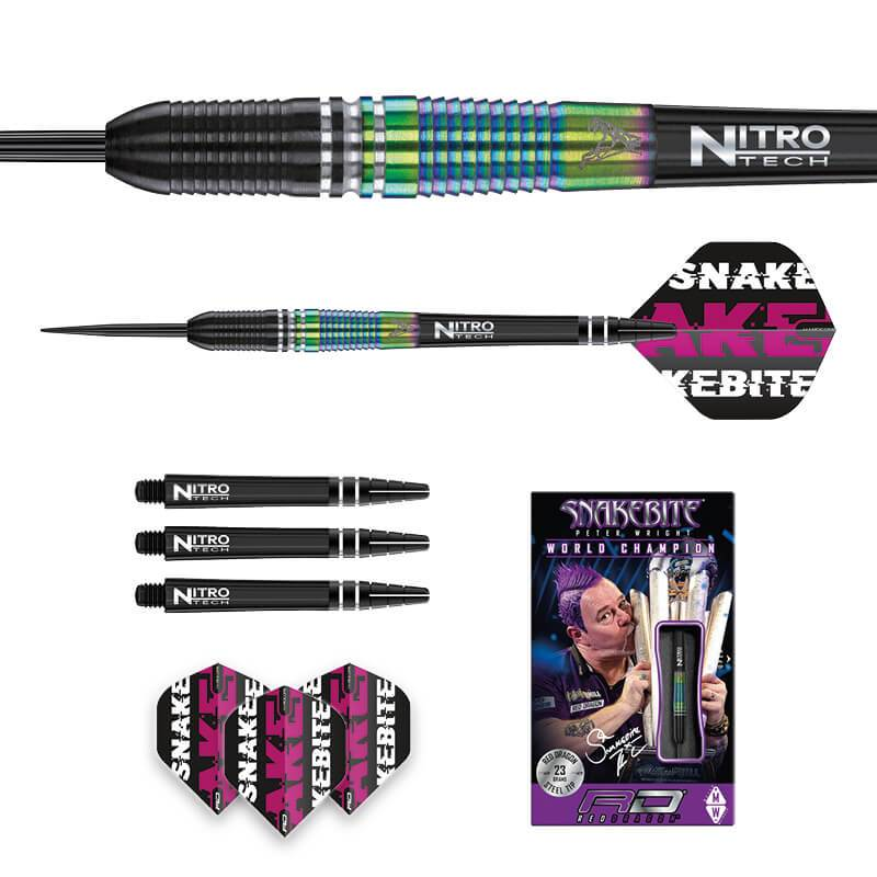 Red Dragon Peter Wright World Champion Torpedo SE Steeldarts - DreamDarts Online Dartshop