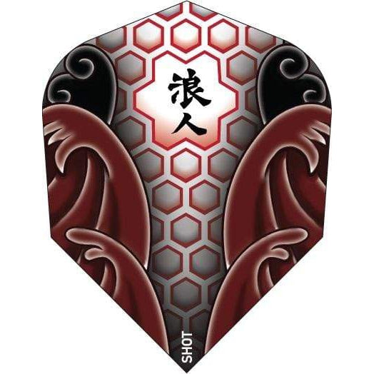 Ronin Makoto Flights No.6 Shape - DreamDarts Dartshop