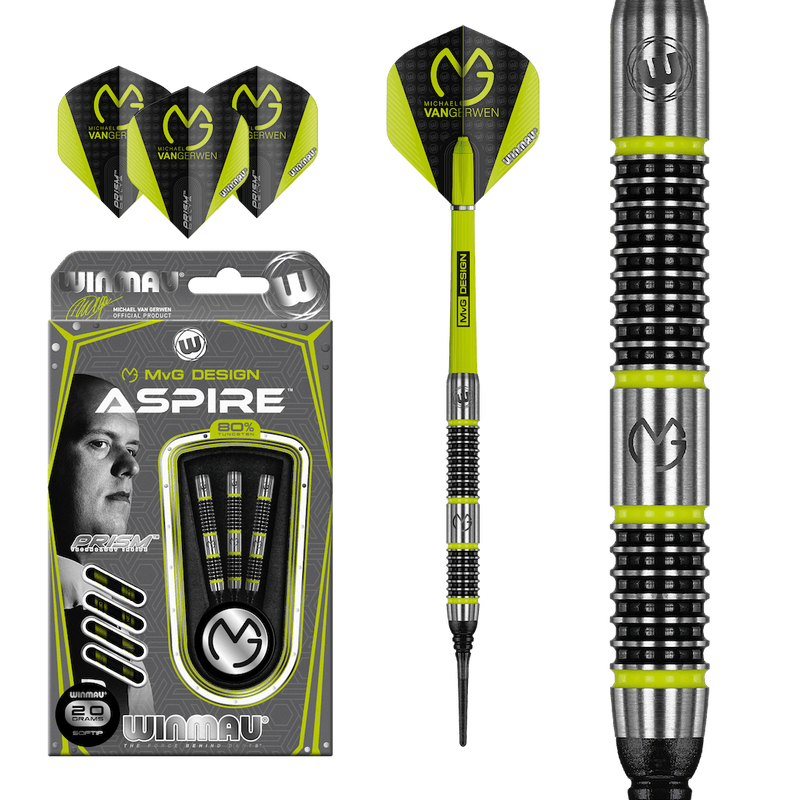 MvG Aspire Softdarts - DreamDarts Online Dartshop