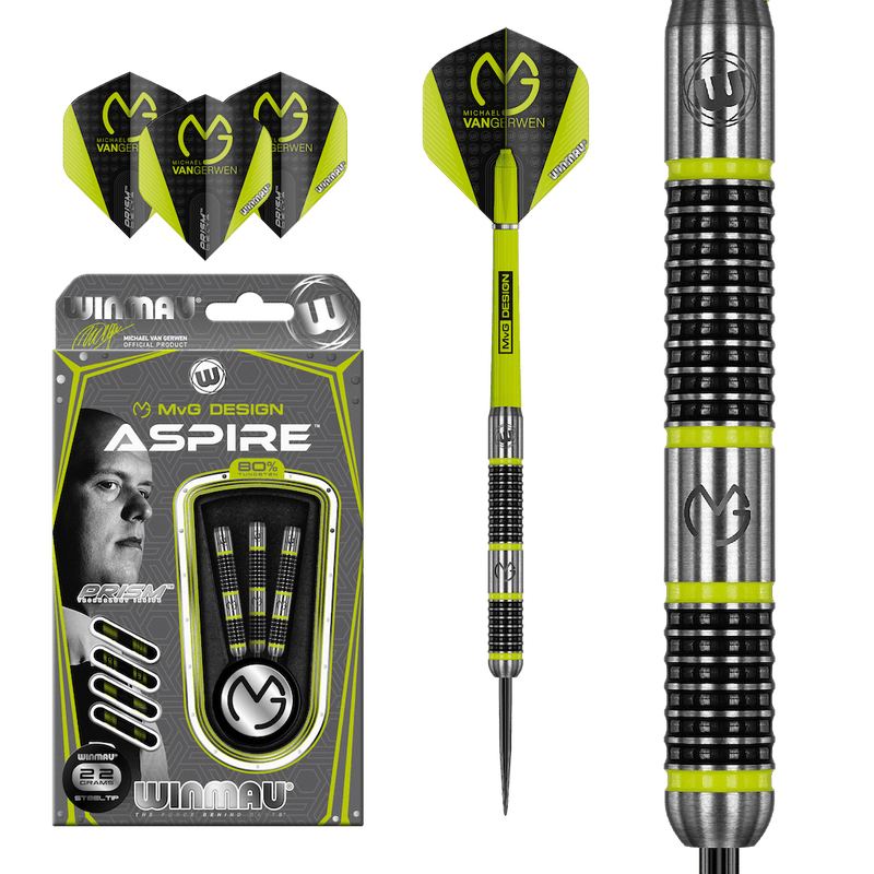 MvG Aspire Steeldarts - DreamDarts Online Dartshop