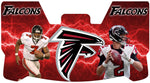 Vic and Ryan Falcons Premium Visor