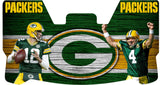 Aaron Rodgers and Brett Farve Packers Premium Visor