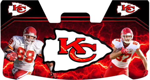 Kelce and Gonzalez Chiefs Premium Visor
