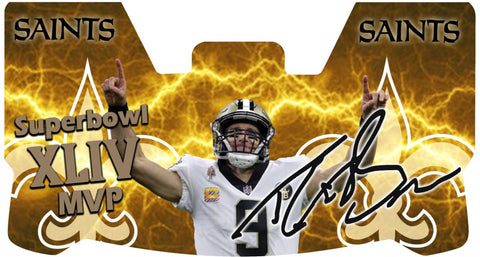 Drew Brees Saints Premium Visor