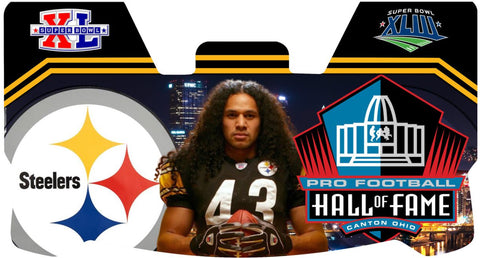 Troy Polamalu Steelers Premium Visor