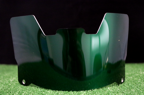 Green Chrome Visor