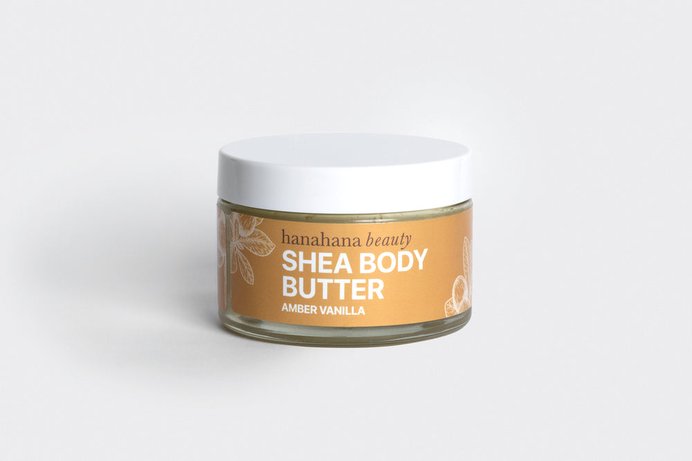 Load image into Gallery viewer, Amber Vanilla Shea Body Butter