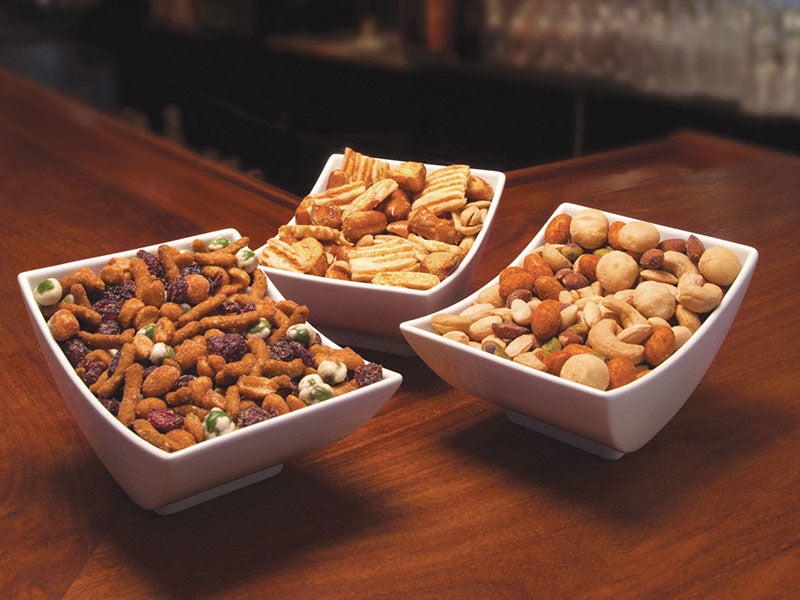 Quality bar snacks and mixes