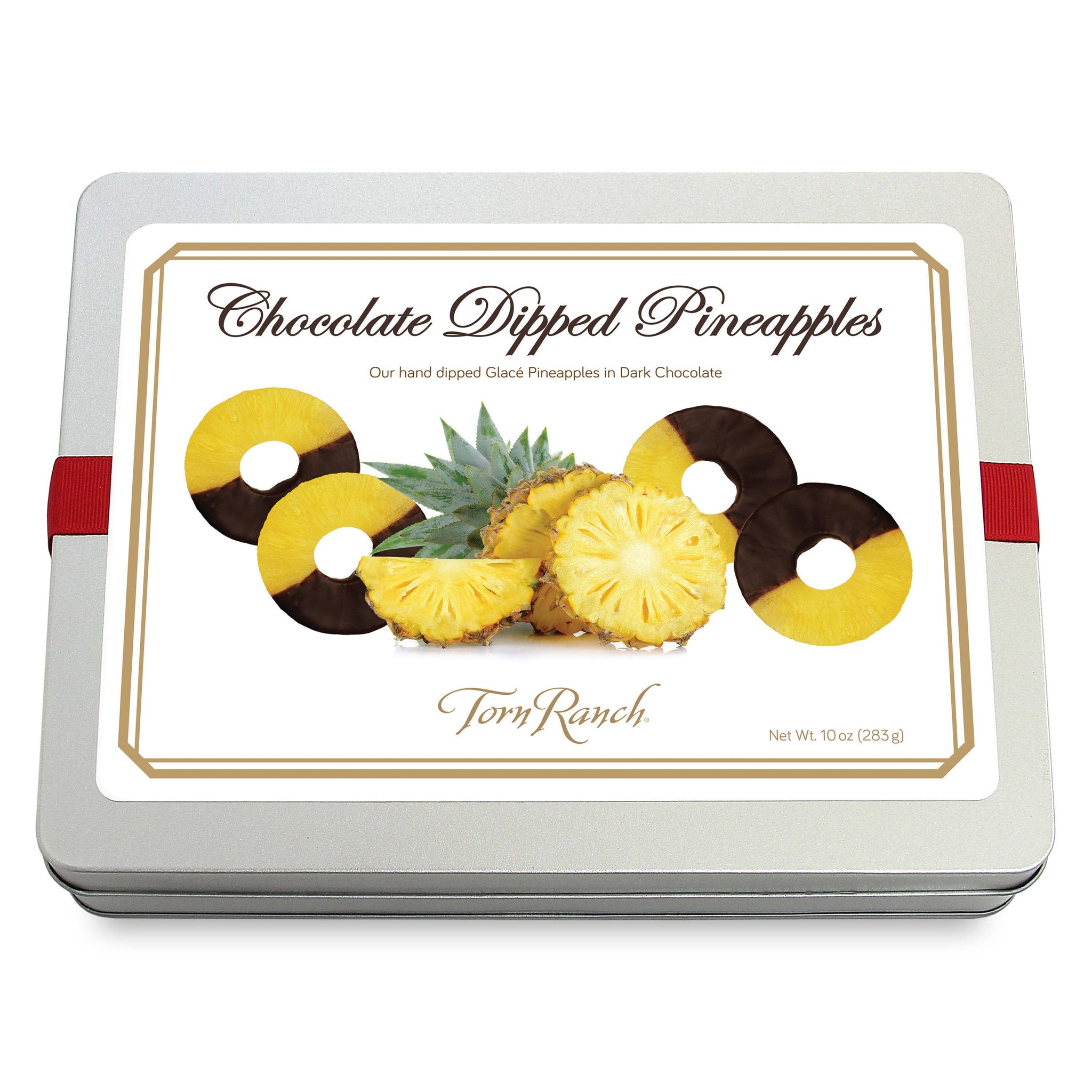 Signature Reserve Chocolate Dipped Pineapple Slices Gourmet Chocolates & Toffee vendor-unknown