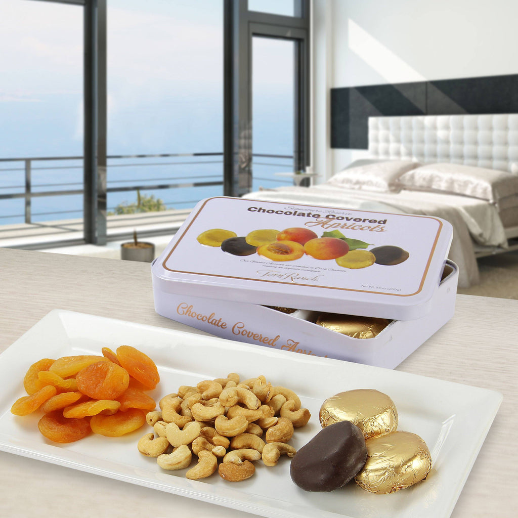 Signature Reserve Chocolate Covered Whole Apricots Gourmet Chocolates & Toffee vendor-unknown