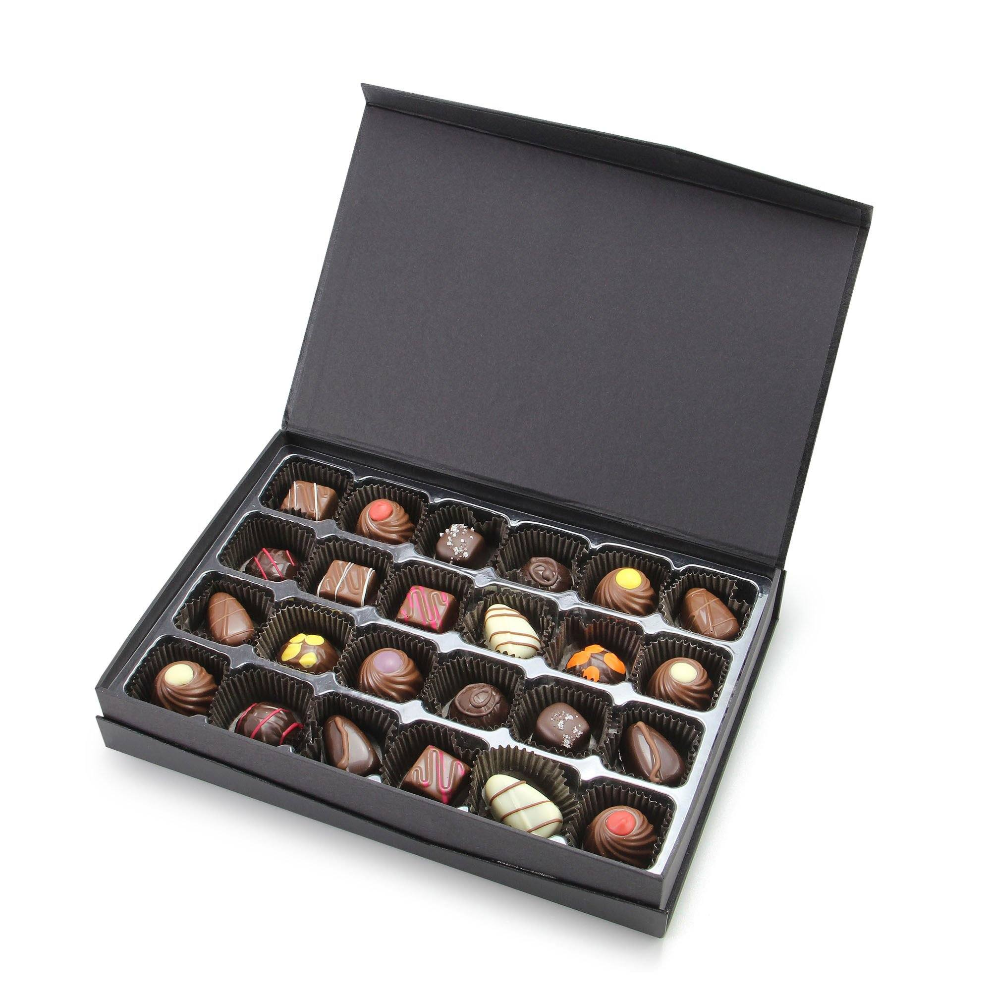 Curated Artisan Truffle Collection - 24 pieces Gourmet Chocolates & Toffee vendor-unknown