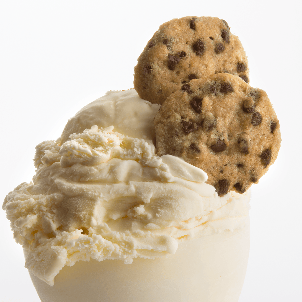 Chocolate Chip Cookies Gift Two Pack Fresh Baked Cookies - cookies and ice cream