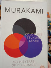 Load image into Gallery viewer, Colorless Tsukuru Tazaki - Huruki Murakami