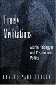 Timely Meditations: Martin Heidegger and Postmodern Politics - Lesley Paul Thiele