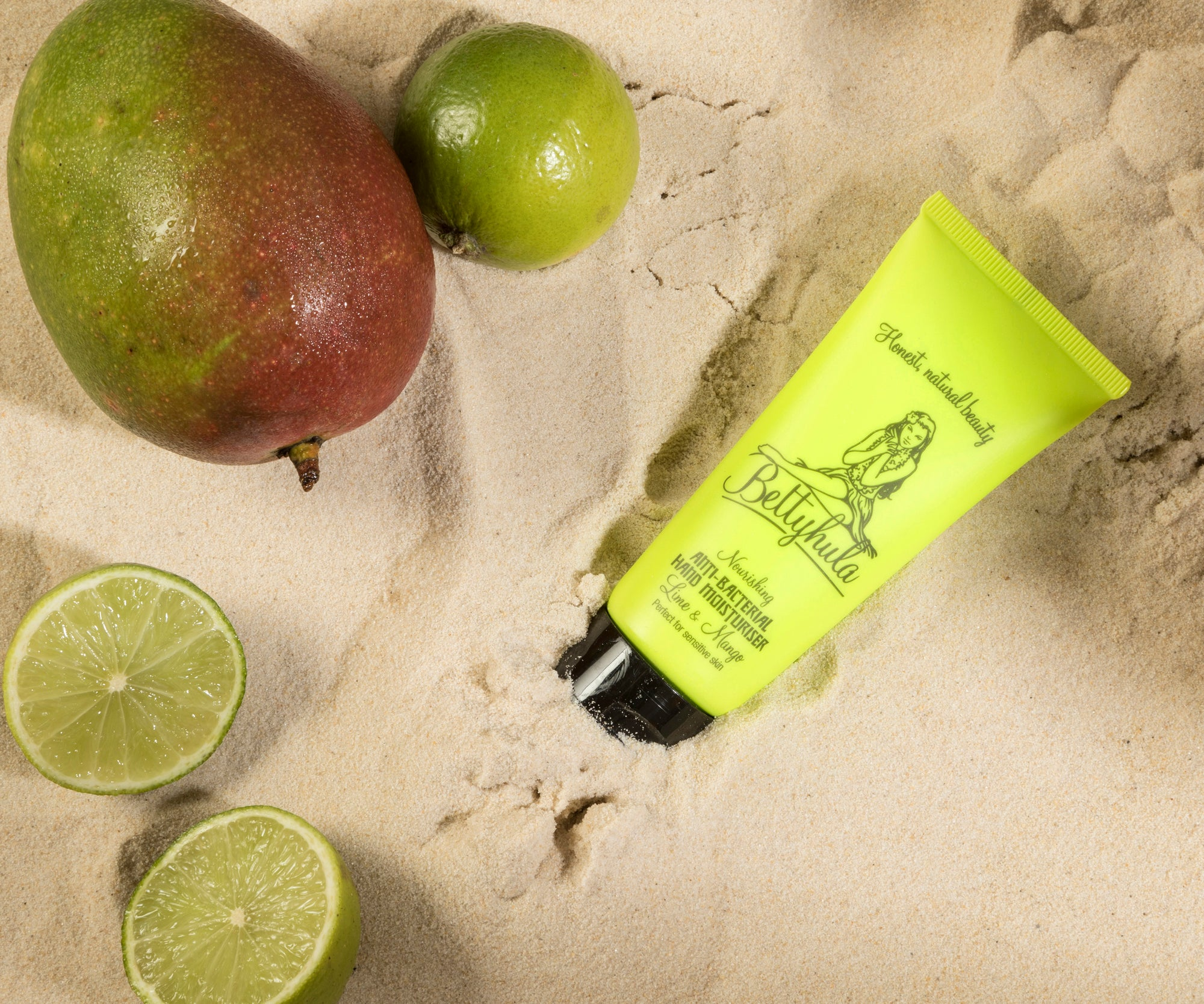 Nourishing Anti-bacterial hand cream Mango & Lime
