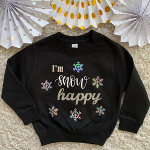 Kids I'm Snow Happy Sweatshirt