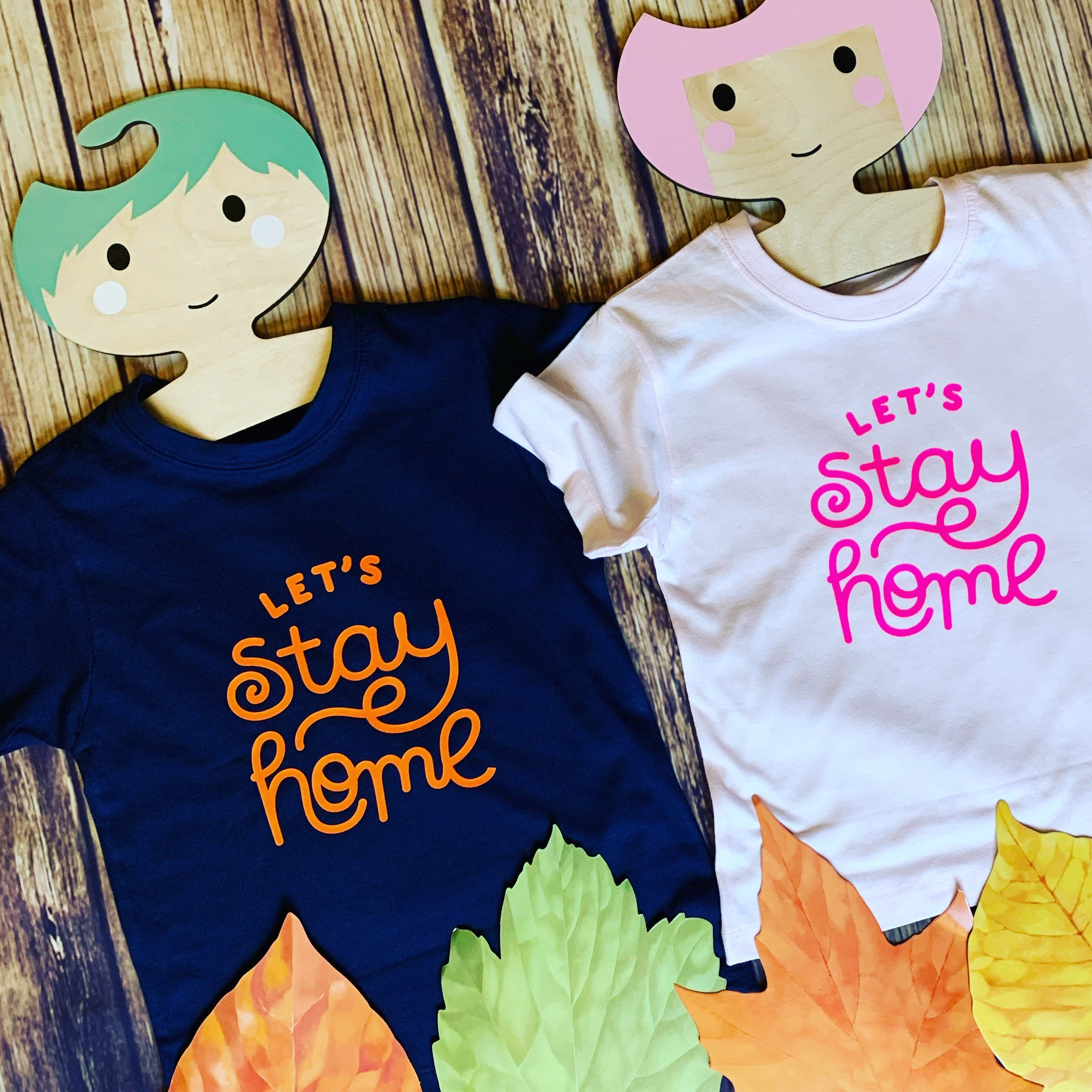 Kids Let's Stay Home T-shirt