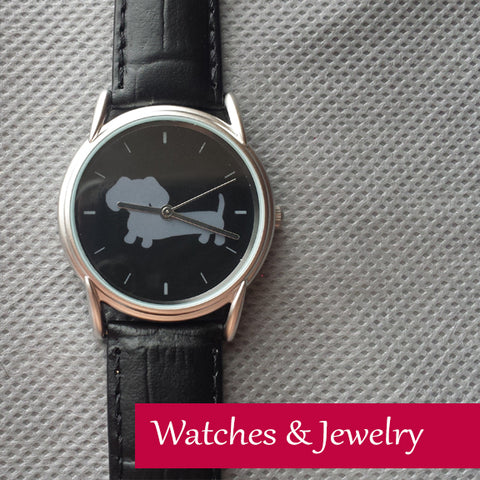 Wiener Dog Watches & Dachshund Jewelry