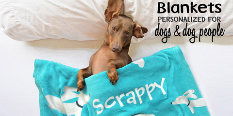 Best gift ever for dog people and dogs - custom blankets