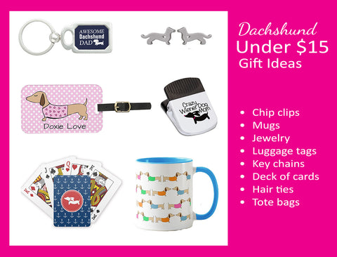 Dachshund gifts under $15, The Smoothe Store