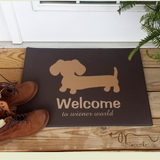 Wiener Dog Doormat Wiener World