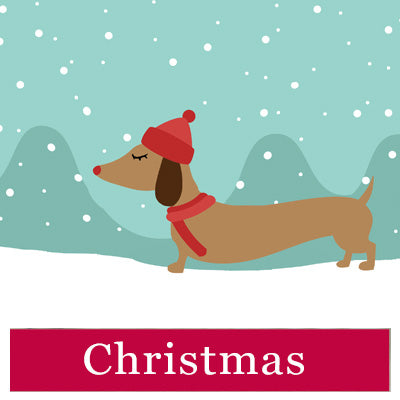 Dachshund Christmas Supplies Ornaments Gifts