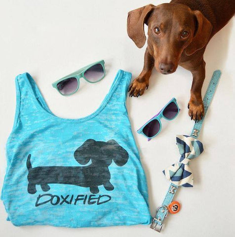 Doxified Burnout Tank Top