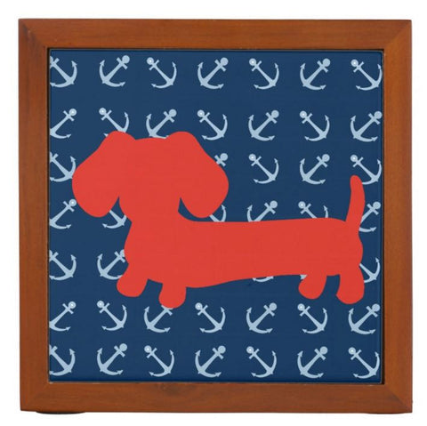Nautical Dachshund Desk Pen Holder - The Smoothe Store