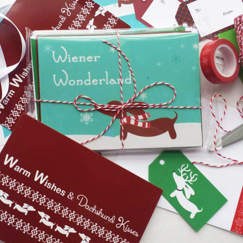 Dachshund Christmas Card Variety Set