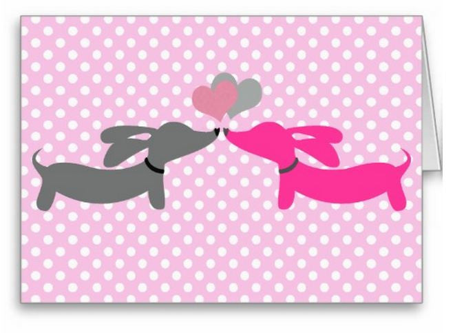 Dachshund Greeting Cards Variety Pack, The Smoothe Store