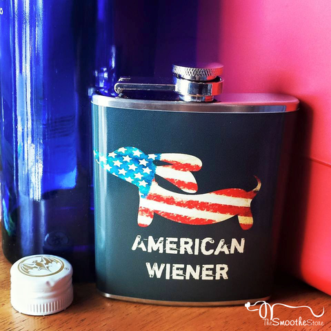 American Wiener Dog Flask, The Smoothe Store