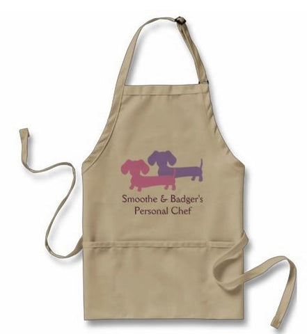 Personalized Dachshund Apron, The Smoothe Store