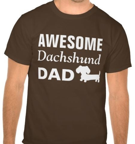 Awesome Dachshund Dad Shirt - The Smoothe Store