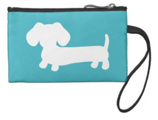 Dachshund Travel and Small Accessory Pouch Bags - The Smoothe Store - 2