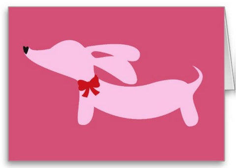 Dachshund Greeting Cards Variety Pack - The Smoothe Store
