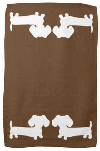 Dachshund Kitchen Dish Towels - The Smoothe Store - 4