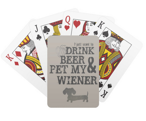 Deck of Dachshund Playing Cards